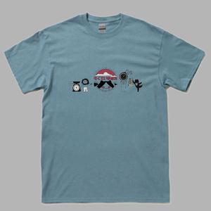 思いを馳せるそくていまみれTシャツ